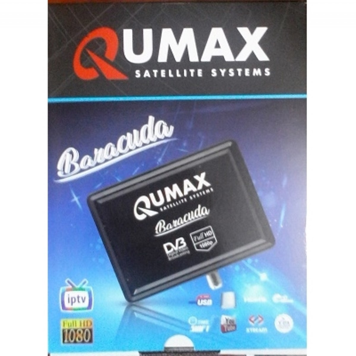IPTV SERVER'lı UYDULAR | QUMAX MİNİ HD İP TV UYDU ALICI | QUMAX |  |
