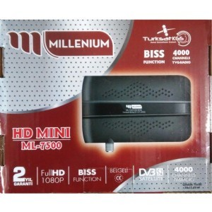 ML-7500 MILLENIUM MİNİ HD UYDU ALICI
