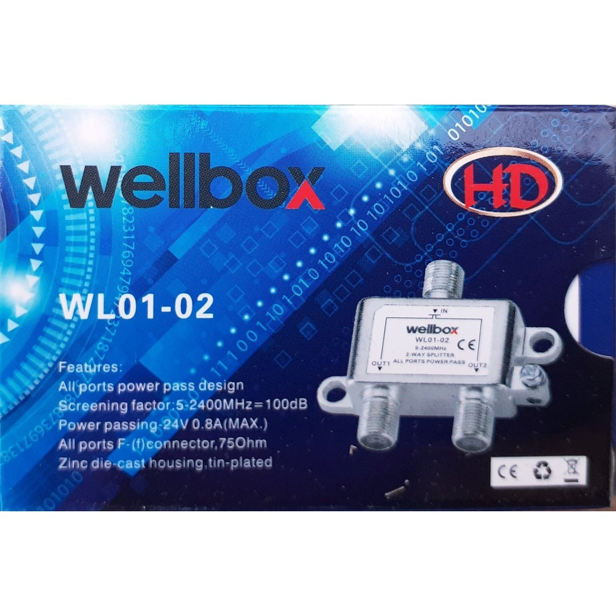 SPLİTTER | WELLBOX 1/2 SPLITTER | WELLBOX1-2 |  |